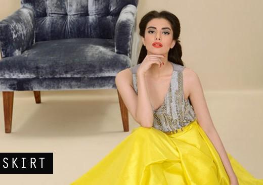 Zara Peeru for MUSE Yellow Skirt Trend Title