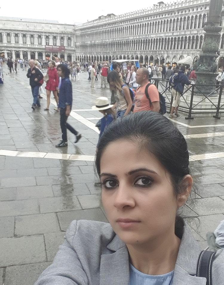Amna Niazi Venice