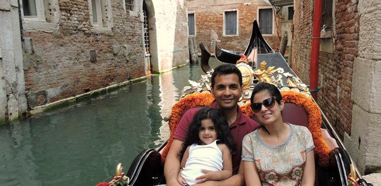 Amna Niazi Gondola Ride