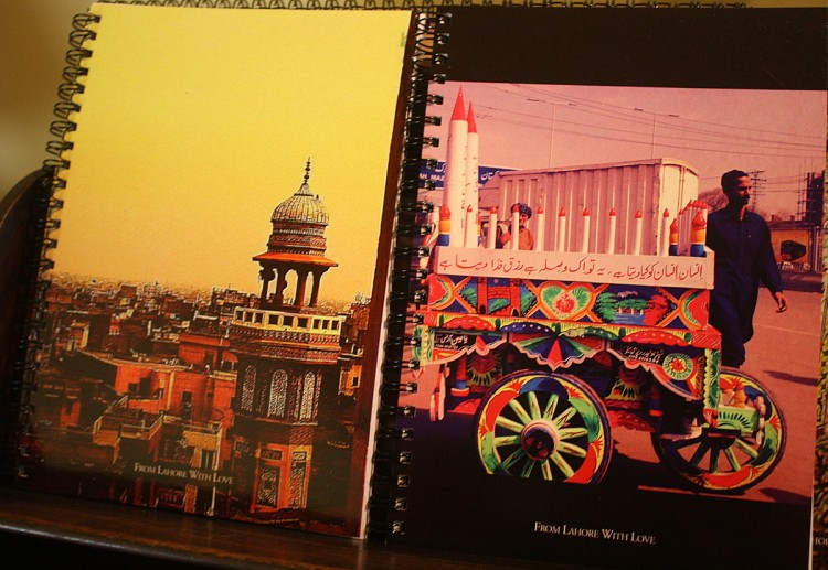 From Lahore with Love Notebooks Postcards