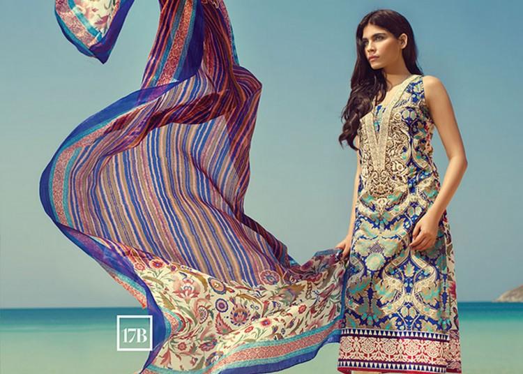 Amna Babar for Sana Safinaz Lawn 2015