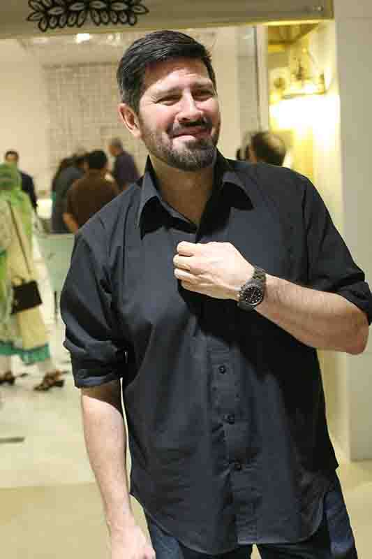 Tapu Javeri wearing ToyWatch