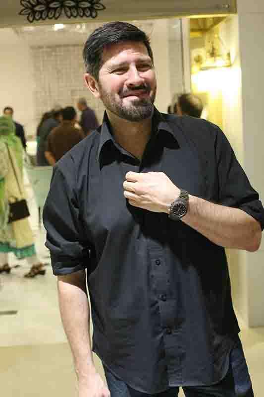 Tapu Javeri wearing ToyWatch