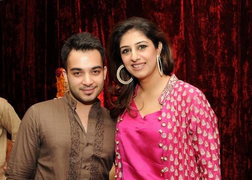 Imtisal and Amna Kardar