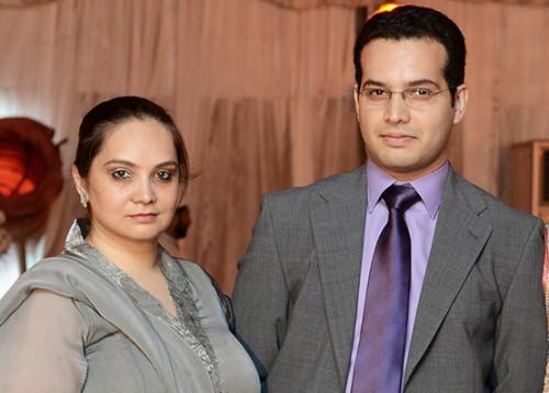 Juggan's Family - Shehrbano and Asad Kazim