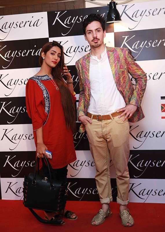 Mathira & Waleed Zaman