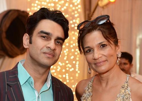Munib Nawaz and Frieha Altaf