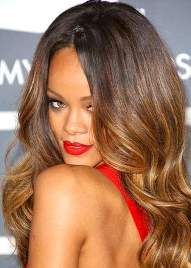 Rihana Ombre Hair Trend