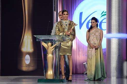 Miss Catwalk _ Presented by Nomi Ansari and Mehreen Raheel to Amna