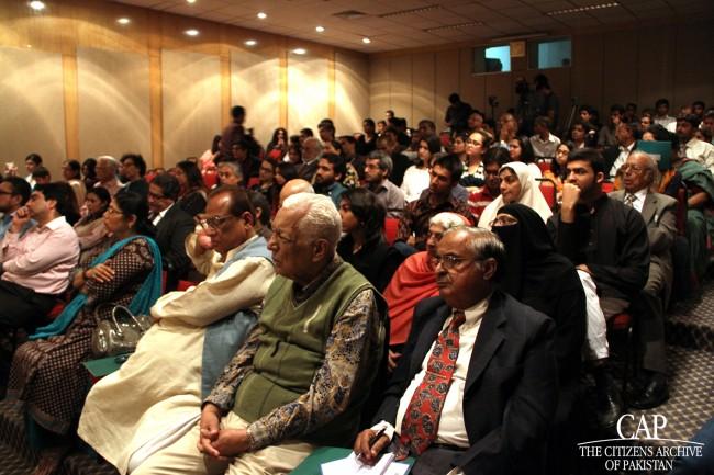 Members of the audience at CAP's Qissa Khwani Bazaar
