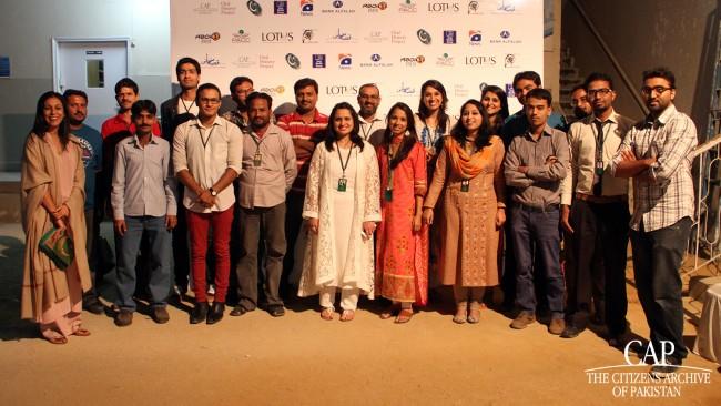 The CAP Team at Qissa Khwani Bazaar