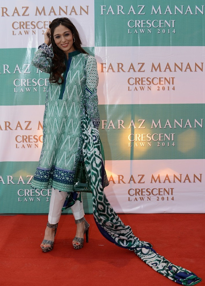 Faraz Manan Lawn 2014