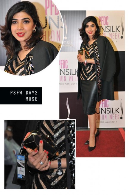 Sadaf Zarrar MUSE Red carpet style