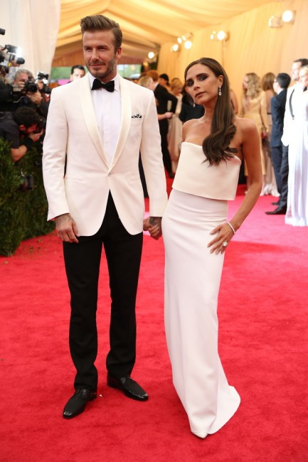 The Beckhams in Ralph Lauren