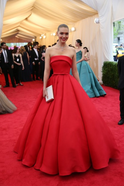 Arizona Muse in Zac Posen