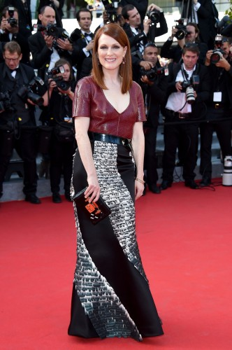 Julianne Moore in Valentino