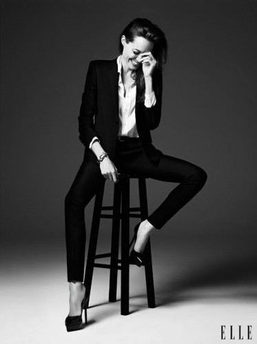Angelina Jolie for Elle