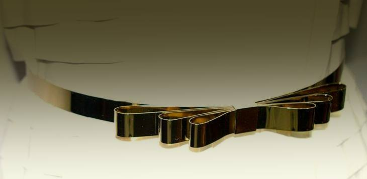 MUSE Gold Papillon Belt