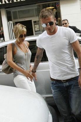David and Victoria Beckham Moments - Shopping