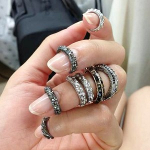 Midi Rings Trend Chanel 2014