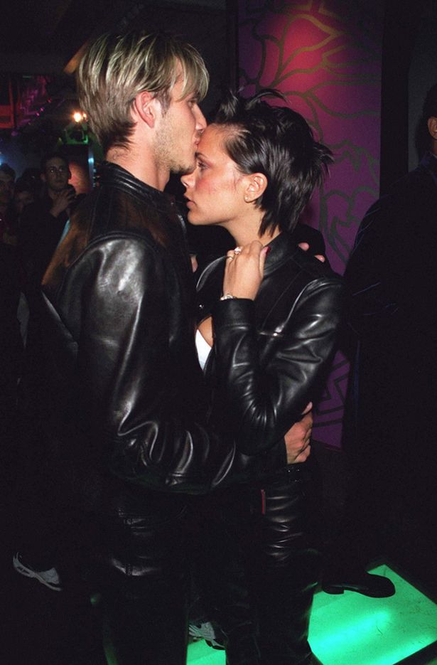 VICTORIA AND DAVID BECKHAM MOMENTS - MATCHING OUTFITS