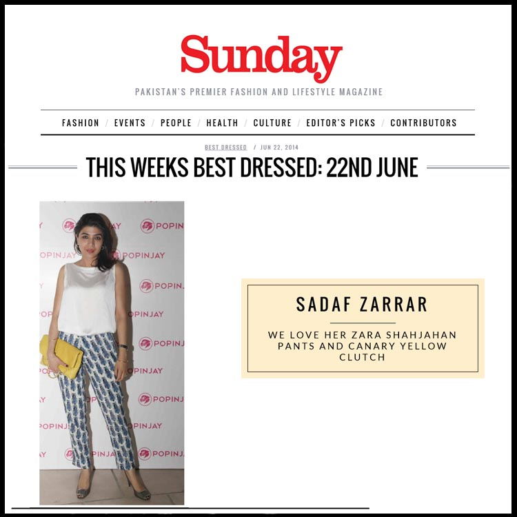 Sadaf Zarrar SiddySays Press