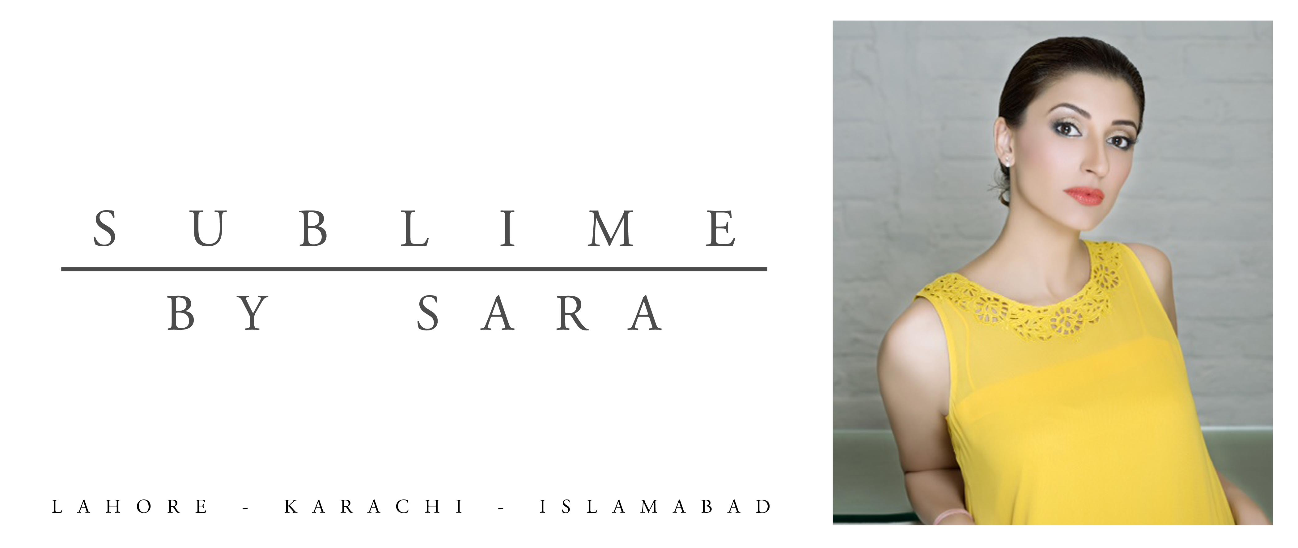 Juju Haider for Sublime by Sara