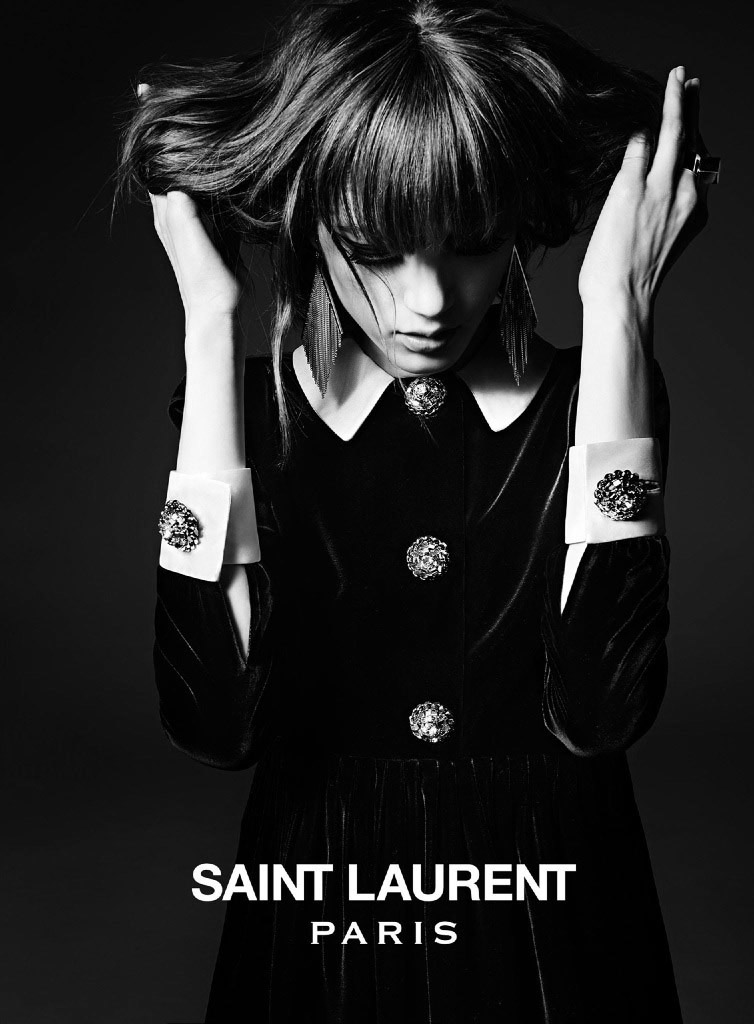 valery kaufman for saint laurent fall winter 2014
