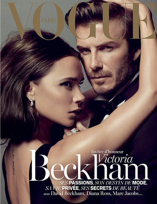 VICTORIA AND DAVID BECKHAM MOMENTS - Vogue 2013