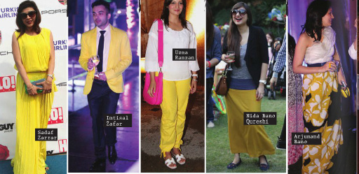 Sadaf Zarrar SiddySays Yellow Trend