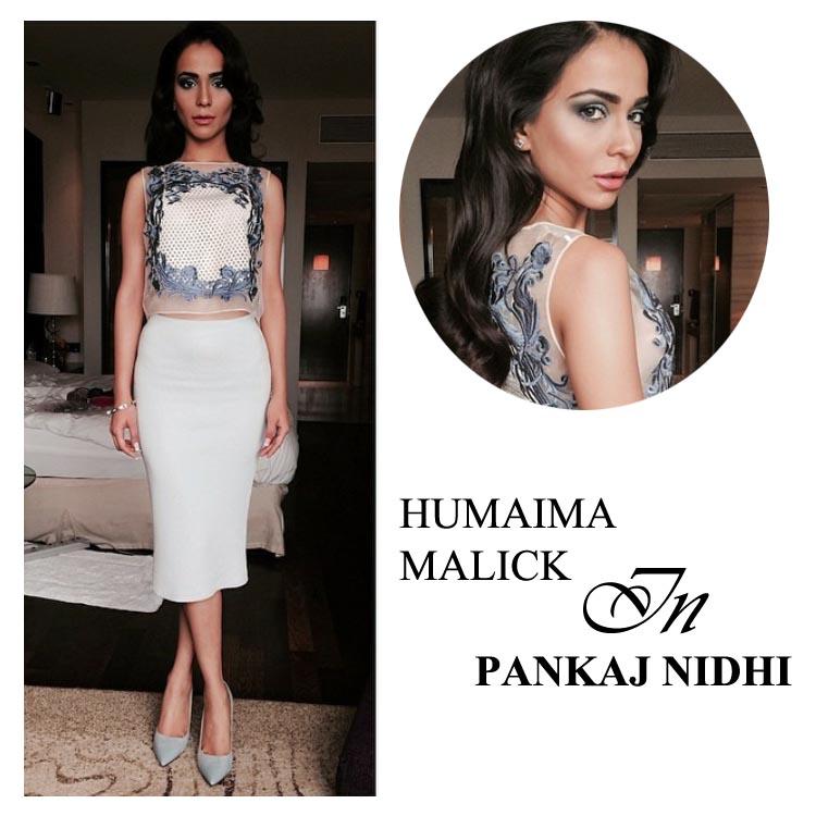 Humaima Malick in Pankaj and Nidhi