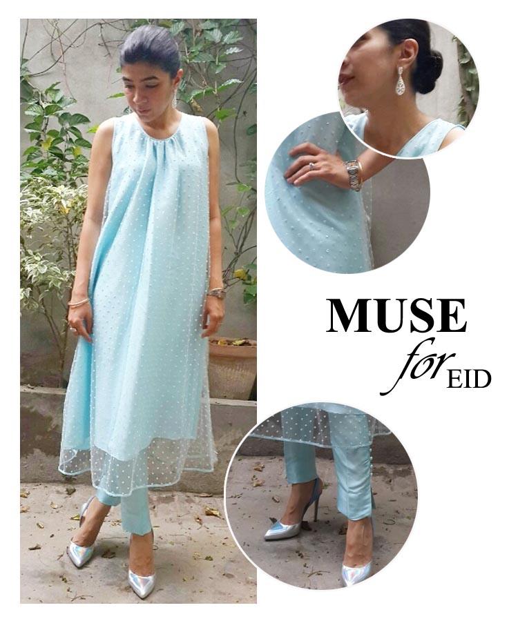 Sadaf Zarrar Muse for Eid