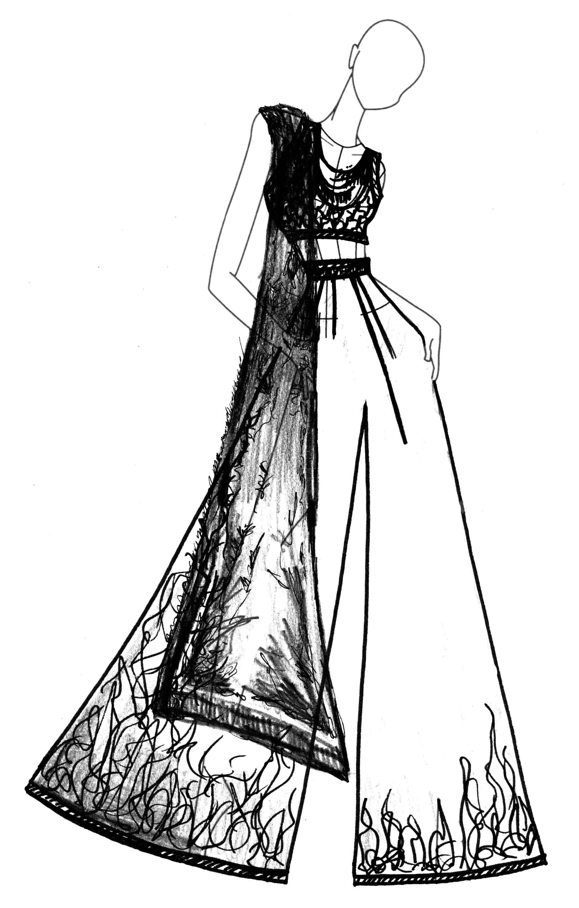 Sania Maskatiya Ara-Ornaments Concept Sketch (1)