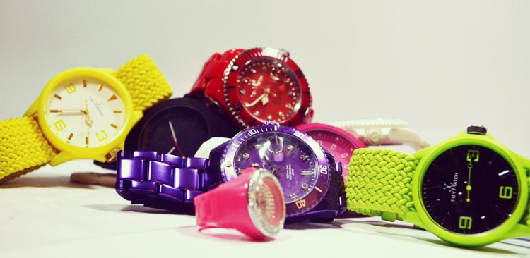 Toy Watch Colour Wrist Watch Trend