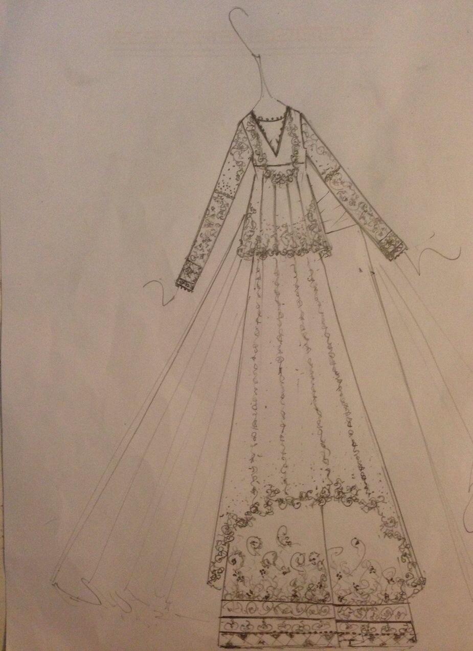 Zara Shahjahan Sketches