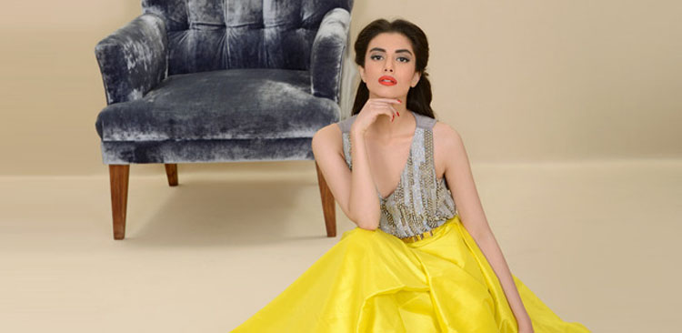 Zara Peerzada in Muse Yellow Skirt