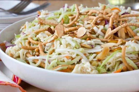 Crispy Cabbage Noodle Salad