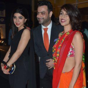 Sadaf Zarrar, Kamiar Rokni and Meesha Shafi