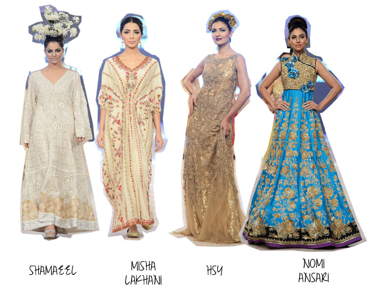 Bridal Trends 2014 in Pakistan and India