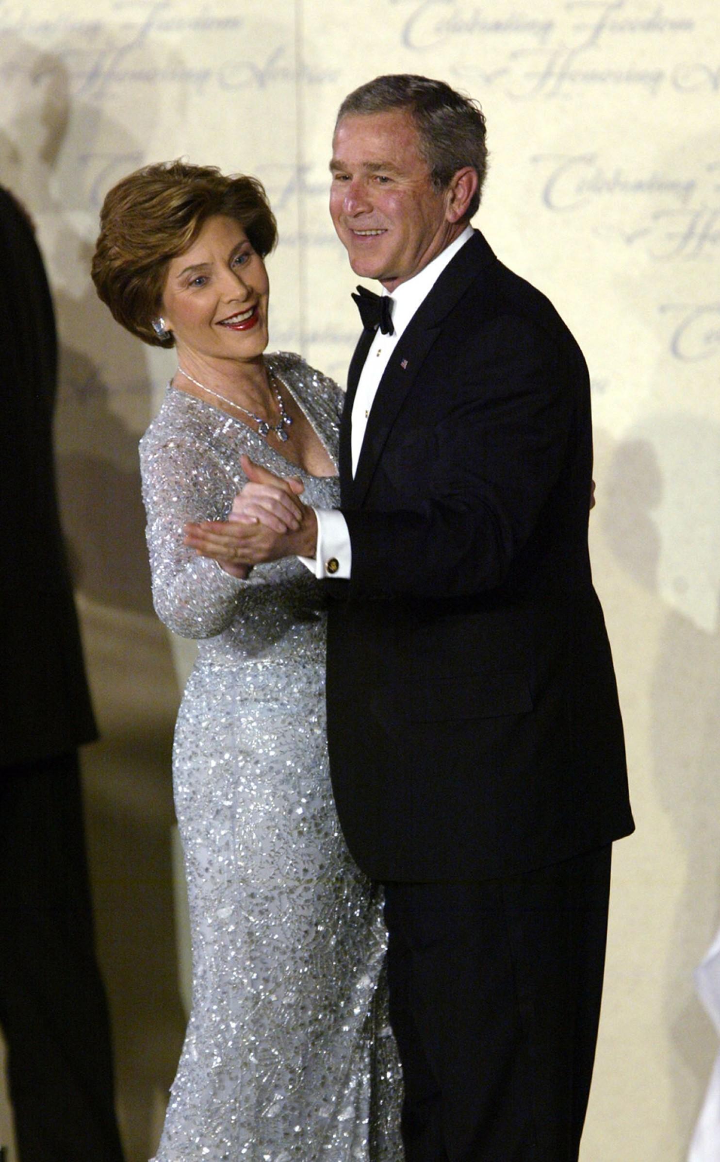 Laura Bush Oscar de la Renta