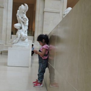 Raniya at Louvre