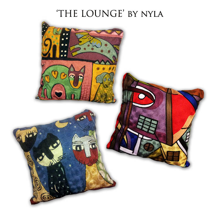 Colourful Cushions