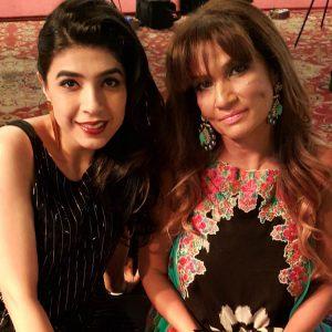 Sadaf Zarrar and Frieha Altaf