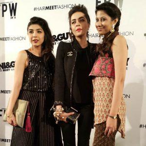 Sadaf Zarrar, Maliha Aziz and Faiza Lakhani