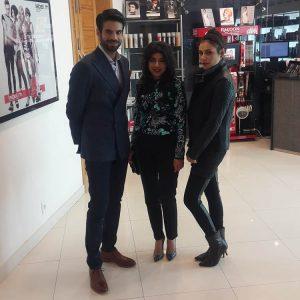 Adnan Malik Sadaf Zarrar and Zoe Viccaji