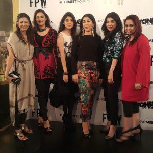 Faiza Lakhani, Salima Feerasta, Foha Raza, Anber Javed, Sadaf Zarrar adnd Samra Muslim