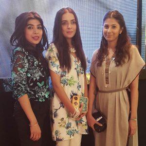 Sadaf Zarrar, Maliha Aziz, Faiza Lakhani