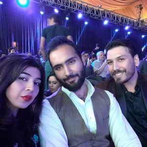 Sadaf Zarrar, Aamir Bokhari and Umair