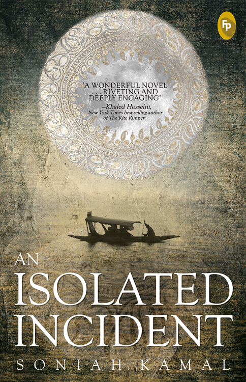 As Isolated Incident - Book Cover [F]