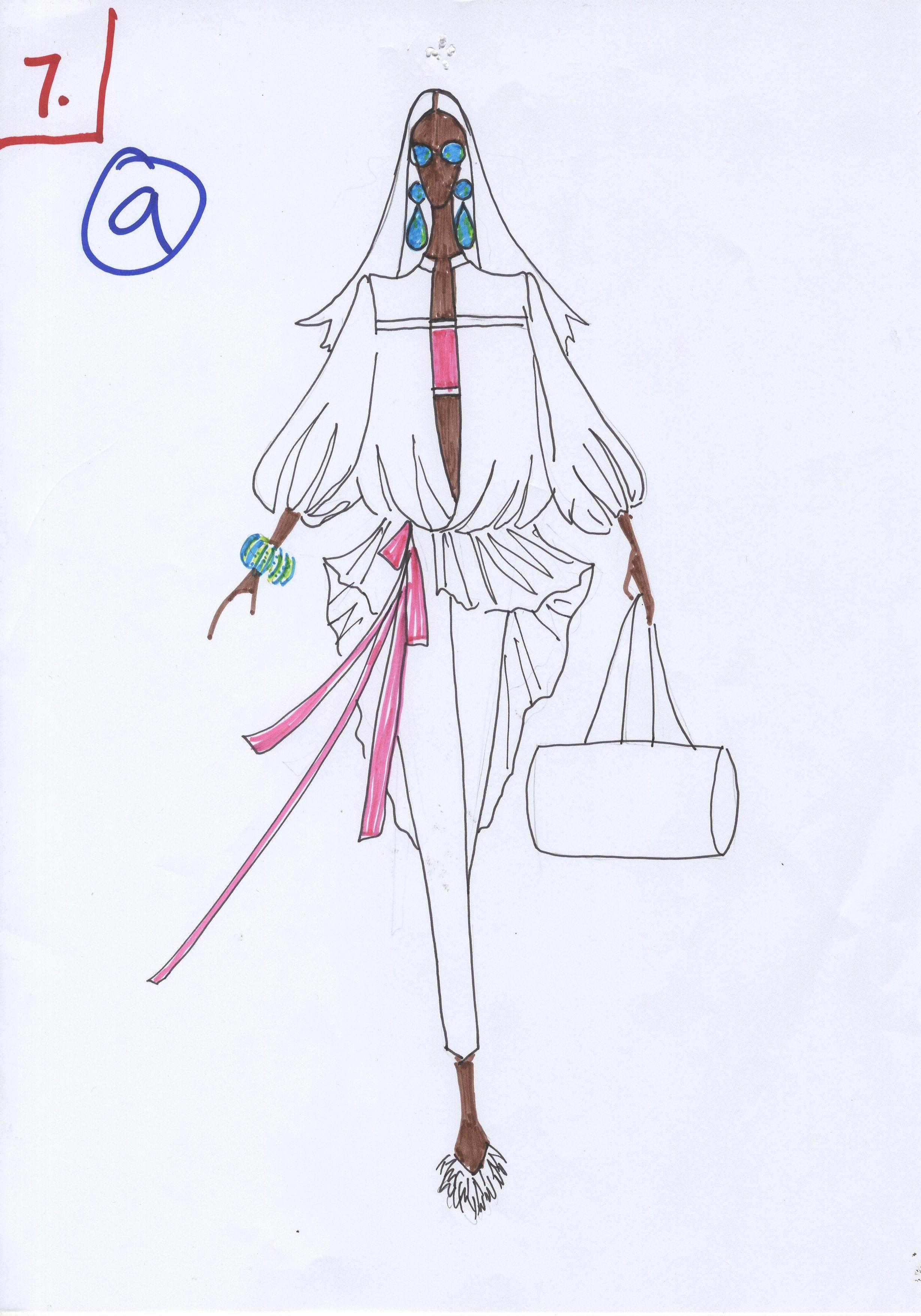 Ather Ali for Sana Safinaz Sketch